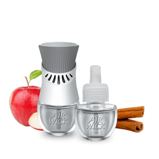 Air Wick Plug in Scented Oils, Apple Cinnamon Medley
