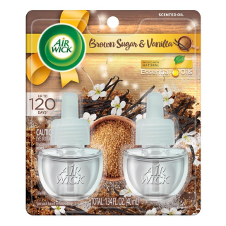 Air Wick Plug in Scented Oils, Brown Sugar & Vanilla