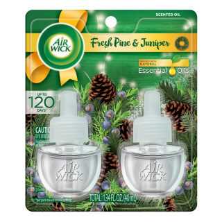 Air Wick Plug in Scented Oils, Fresh Pine & Juniper