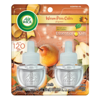 Air Wick Plug in, Scented Oils - Warm Pear Cider